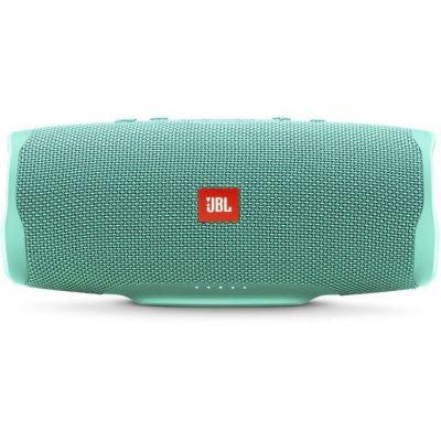 image produit JBL Charge 4 – Enceinte Bluetooth portable avec USB – Robuste et étanche : pour piscine et plage – Son puissant – Autonomie 20 hrs – Turquoise - livrable en France