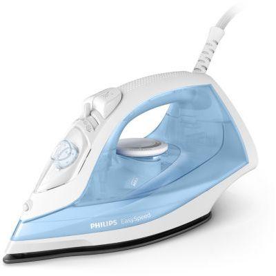 image Philips Ferri a Vapore EasySpeed Fer à vapeur, toucher 90 g, réservoir 220 ml, bleu clair/blanc
