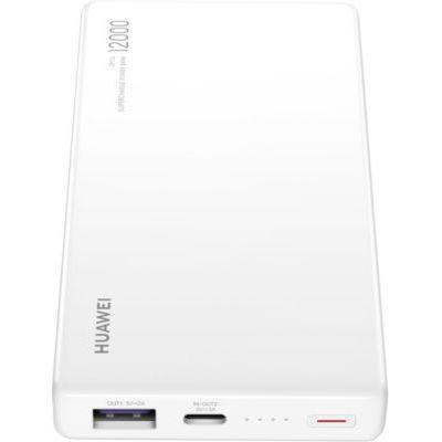 image Huawei 55030727 Power Bank 12, 000 mAh Sortie 10V4A/5V4.5A/9V2A Type C Blanc