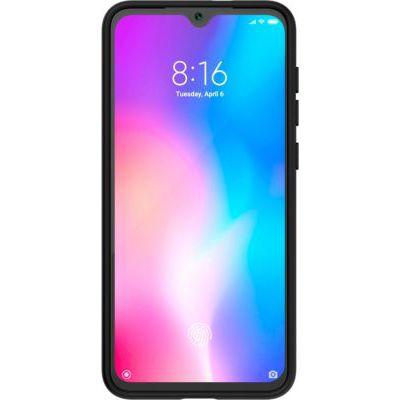 image Pack Coque TPU et Verre trempé pour Xiaomi MI9SE Noir