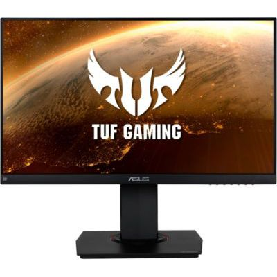 "image ASUS TUF Gaming VG249Q - Ecran PC Gamer eSport 23,8"" FHD - Dalle IPS - 144Hz - 1ms - 16:9 - 1920x1080 - Display Port, HDMI & VGA - Haut-parleurs - AMD FreeSync - G-Sync - ELMB - HDR 10 - 90% DCI-P3"