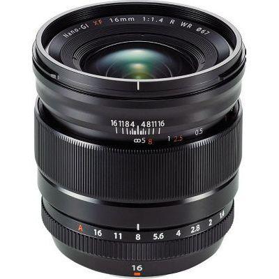 image Fujifilm Objectif XF-16 mm/F1.4 R WR Noir