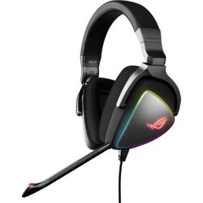 image ASUS - Casque Gamer ROG Delta 7.1 Virtuel avec RGB Aura Sync - Connectique Type C