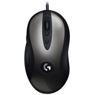 image Logitech G MX518 Gaming Mouse Capteur HERO Capteur 16 000 dpi ARM 8 boutons Programmables (Emballage Allemand) - Noir