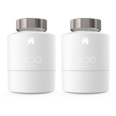 image tado° Tête Thermostatique Intelligente - Pack Duo, accessoire pour le contrôle multi-pièces, contrôle de chauffage intelligent, Installez par vous-même