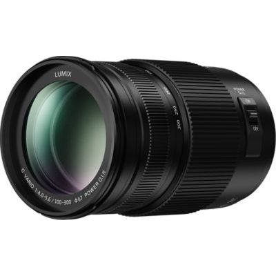 image Panasonic Lumix 100-300mm F4.0-5.6 | Objectif Téléphoto H-FSA100300E (Zoom Ultra Puissant, Stabilisé, Tropicalisé, equiv. 35mm : 200-600mm) Noir – Compatible monture Micro 4/3 Panasonic & Olympus