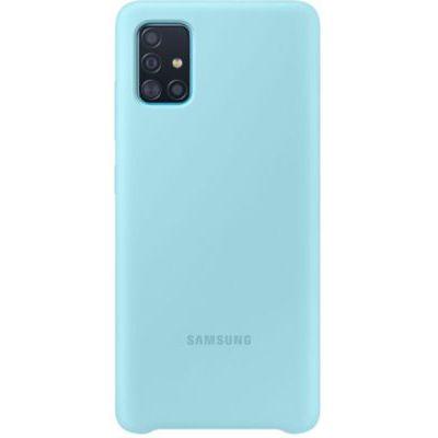 image Samsung Coque Silicone G A51 Bleu