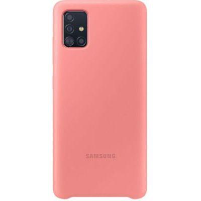 image produit Samsung Coque Silicone G A51 Rose - livrable en France