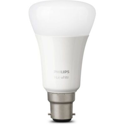 image Philips Hue Ampoules LED Connectées White B22 Compatible Bluetooth, Fonctionne avec Alexa Pack de 2