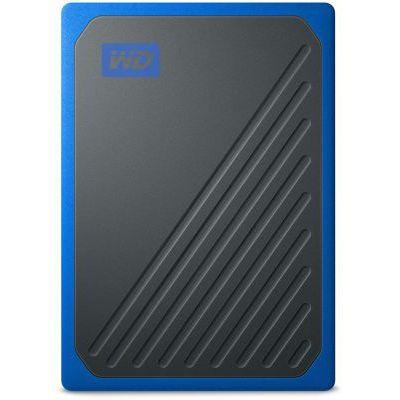 image WD - My Passport Go 1TB - Disque SSD Portable - Finition Cobalt