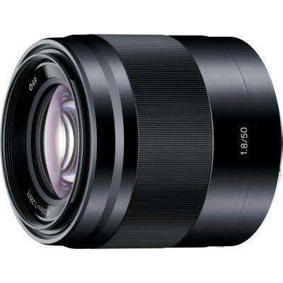 image Sony Objectif SEL50F18 Monture E APS-C 50 mm F1.8 - Noir