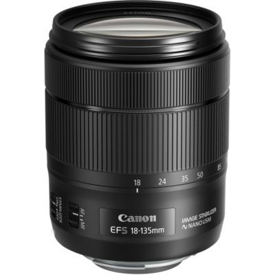 image Canon 1276C005 18-135 mm / F 3.5-5.6 EF-S IS USM Objectifs 18 mm