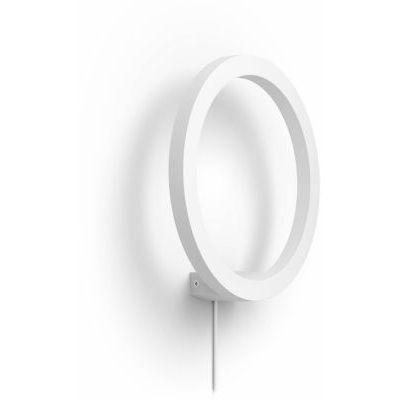 image Philips Hue White & Color Ambiance Applique Sana Blanc, Compatible Bluetooth 20 W, Fonctionne avec Alexa