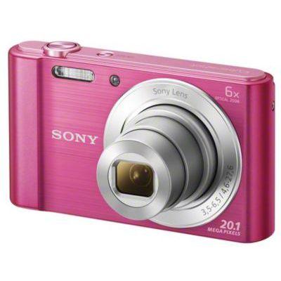 image Sony DSC-W810P Appareil Photo Numérique Compact, 20,1 Mpix, Zoom Optique 6x- Rose
