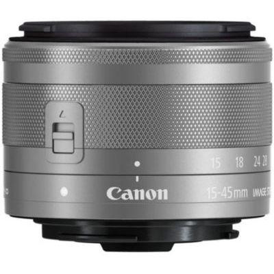 image Objectif Canon EF-M 15-45mm f/3.5-6.3 IS STM pour EOS M - Argent