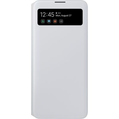 image Samsung Etui S View Wallet G A71 Blanc