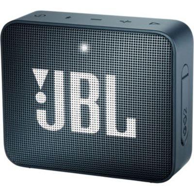 image JBL GO 2 Mini Enceinte Portable - Étanche pour Piscine & Plage IPX7 - Autonomie 5hrs - Qualité Audio, Bluetooth, Bleu Foncé