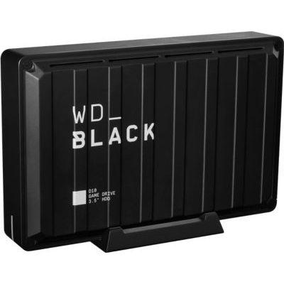 image WD_Black D10 8To - Disque dur externe gaming en 7 200 tr/min avec refroidissement actif pour stocker votre collection de jeux massive