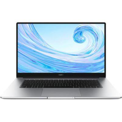 """image HUAWEI MateBook D 15 2020 PC Portable 15.6'' 1080p FHD (AMD Ryzen 5 3500U, 8Go, 256Go), Argent & Sacoche à bandoulière pour Tablette et Ordinateur Portable 15.6"""" (40 cm) Noire, 1 pièce"""