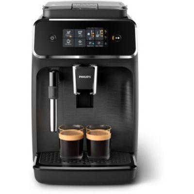 image Philips EP2220/10 Machine Espresso automatique Séries 2200 Mousseur à Lait Noir Mat