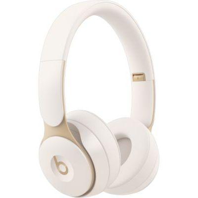 image Casque Beats Solo Pro sans fil avec réduction acive du bruit et Puce Apple H1 - Crème