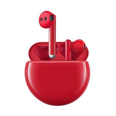 image Ecouteurs sans fil Huawei FreeBuds 3 Rouge avec réduction de bruit active