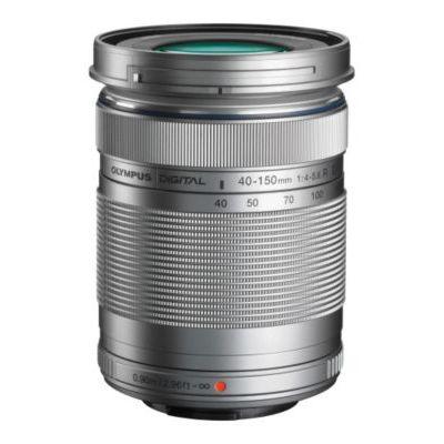 image Olympus M.Zuiko Objectif Digital ED 40-150mm F4-5.6 II, zoom téléphoto, compatible tout appareil photo Micro 4/3 (modèles Olympus OM-D & PEN, Panasonic série G), Argent