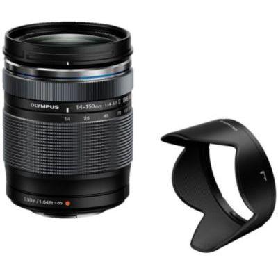 image produit Olympus M.Zuiko Objectif Digital ED 14-150mm F4-5.6 II, zoom universel, compatible tout appareil Micro 4/3 (modèles Olympus OM-D & PEN, Panasonic G-series), Noir - livrable en France