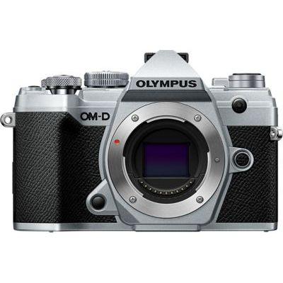 image Olympus OM-D E-M5 Mark III Silver Appareil Photo Micro 4/3, capteur 20 MP, stabilisateur d'image 5 axes, AF puissant, viseur électronique OLED, vidéo 4K, WLAN, Bluetooth