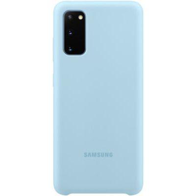 image Samsung coque silicone Galaxy S20 - Bleu