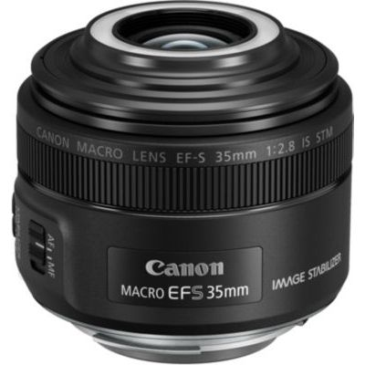 image Canon Objectif EF-S 35 mm F/2.8 Macro IS STM