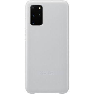 image Samsung Leather Cover Galaxy S20+ - Cuir gris clair