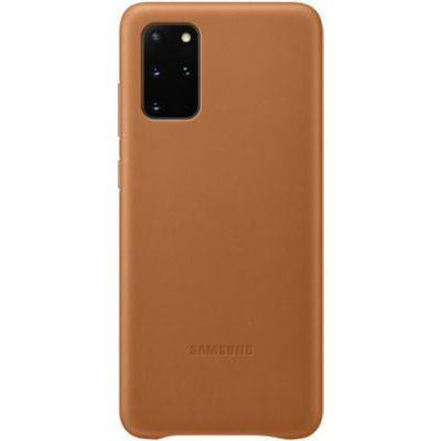 image Samsung Leather Cover Galaxy S20+ - Cuir marron
