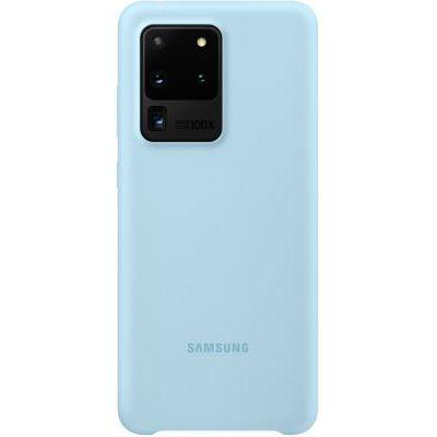 image Samsung coque silicone Galaxy S20 Ultra - Bleu