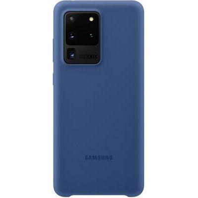 image Samsung coque silicone Galaxy S20 Ultra - Bleu marine