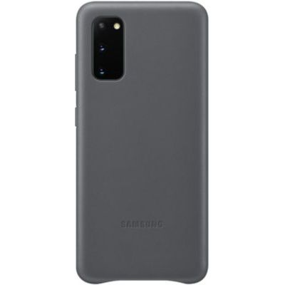 image Samsung Leather Cover Galaxy S20 - Cuir gris