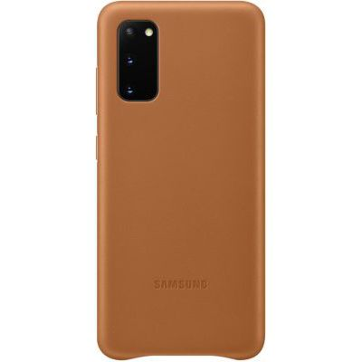 image Samsung Leather Cover Galaxy S20 - Cuir marron