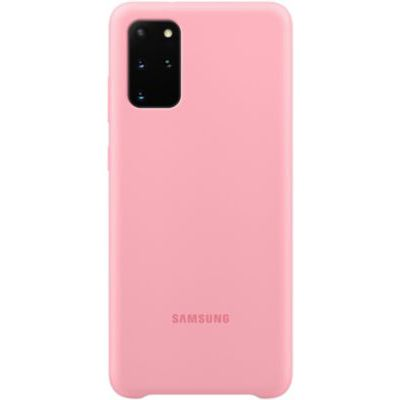 image Samsung coque silicone Galaxy S20+ - Rose