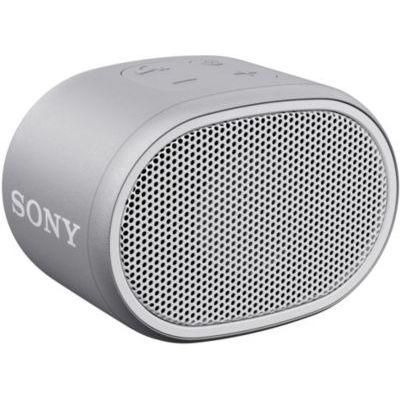 image Sony SRS-XB01 Enceinte portable ultra compacte résistante à l'eau - Blanche