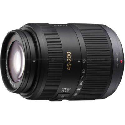 image Panasonic Lumix 45-200mm F4.0-5.6 | Objectif Téléphoto H-FSA45200E (Zoom Puissant, Stabilisé, Tropicalisé, equiv. 35mm : 90-400mm) Noir – Compatible monture Micro 4/3 Panasonic & Olympus
