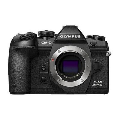 image Olympus E-M1 Mark III Noir Appareil Photo numérique