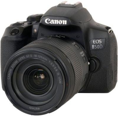 image Canon EOS 850D 18-135 U EU26 Appareil Photo Noire