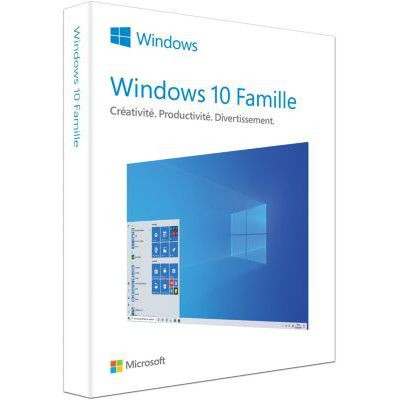 image WINDOWS FAMILLE 10 | P2 32-bit/64-bit | French | USB