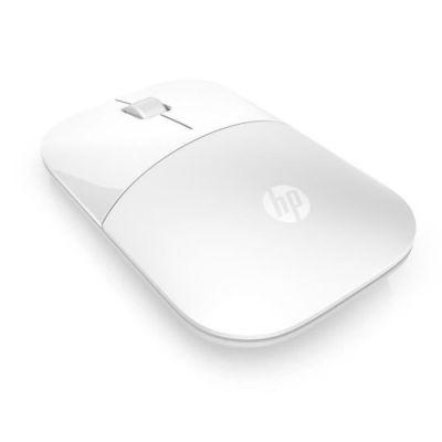 image HP Z3700 White Wireless Mouse - Souris sans fil - Blanc