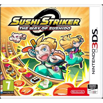 image Jeu Sushi Striker : The Way of Sushido sur Nintendo 3DS