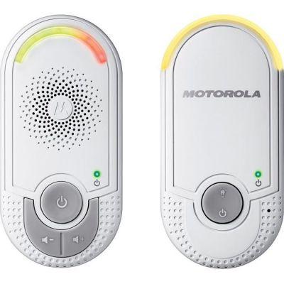 image Motorola MBP 8 - Babyphone audio DECT avec Prise murale plug 'n go - éco mode et veilleuse - Blanc