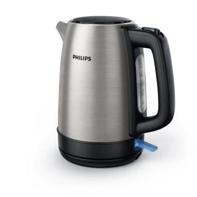 image Philips HD9350 / 90 bouilloire (2200 watts, 1,7 litres, en acier inoxydable)