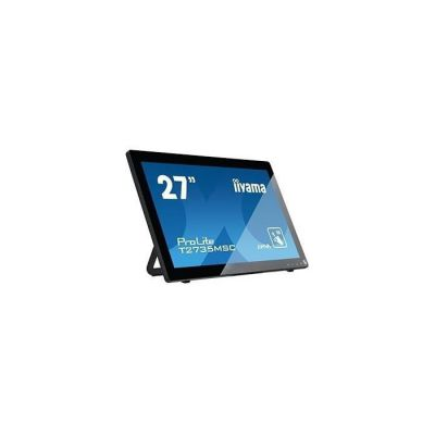 "image iiyama Prolite T2735MSC-B2 Moniteur tactile Multi-Touch P-Cap 27"" LED Full HD VGA/DVI/HDMI Multimédia Traitement Noir"