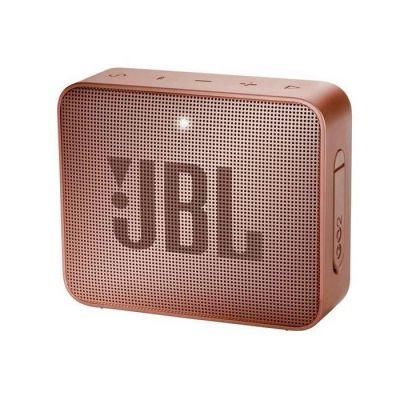 image JBL GO 2 - Mini Enceinte Bluetooth portable - Étanche pour piscine & plage IPX7 - Autonomie 5hrs - Qualité audio JBL - Rose foncé