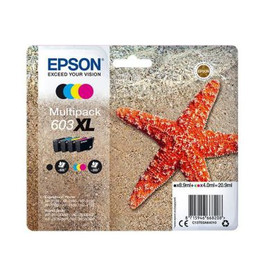 image Epson C13T03A64010 Approprié pour XP2100 Encre multi couleur Nr.603XL 20,9 ml Noir Normal
